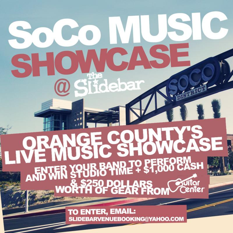 Local Musicians - Win Big @ Slidebar
