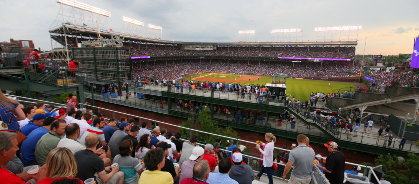 Chicago Cubs Rooftop Tickets | Cubs Rooftop Deals - Compare ...