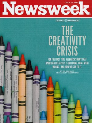 Creativity Crisis Cover