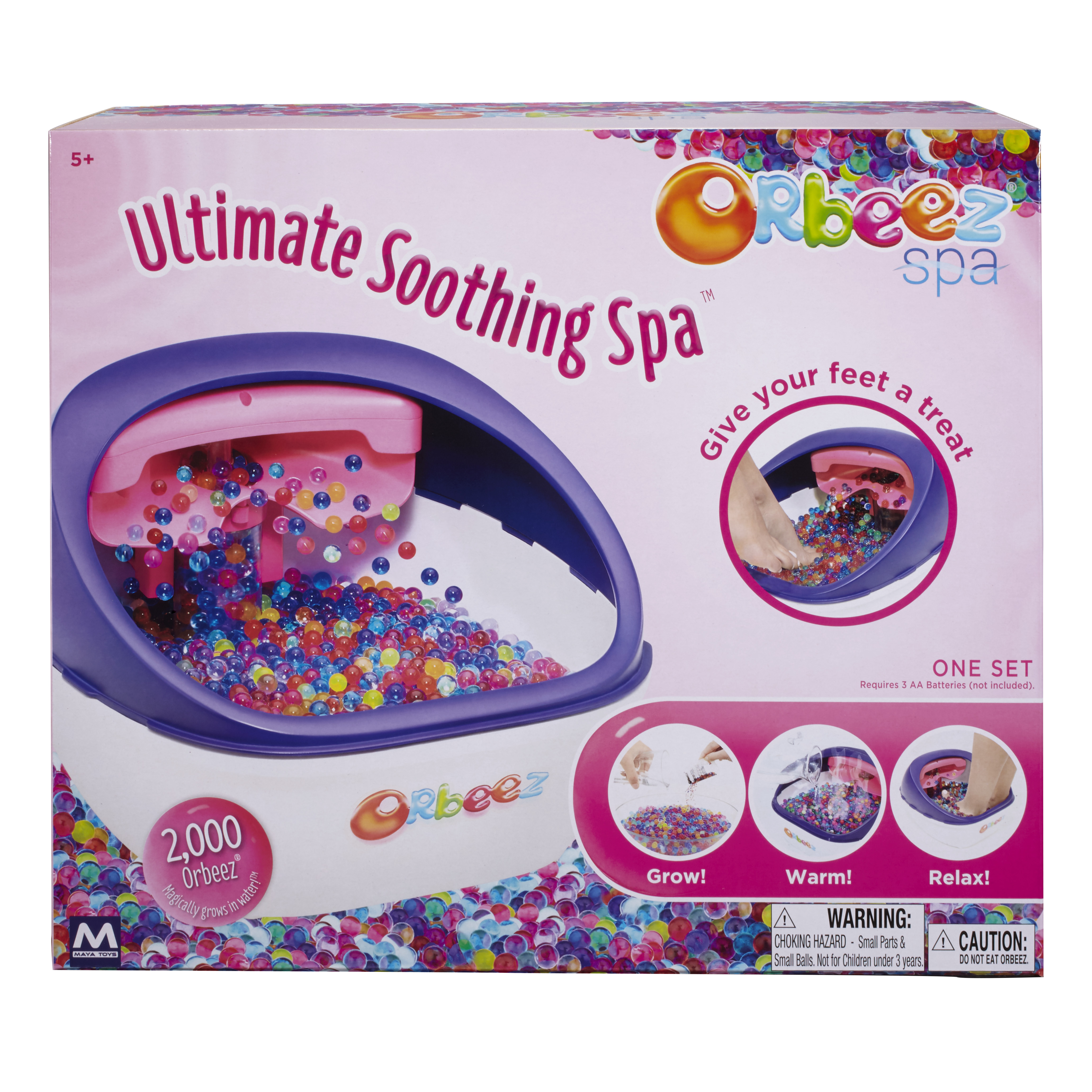 orbeez soothing spa instructions