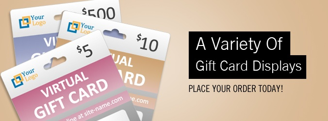 Gift Card Printing Display Services By Krs Group