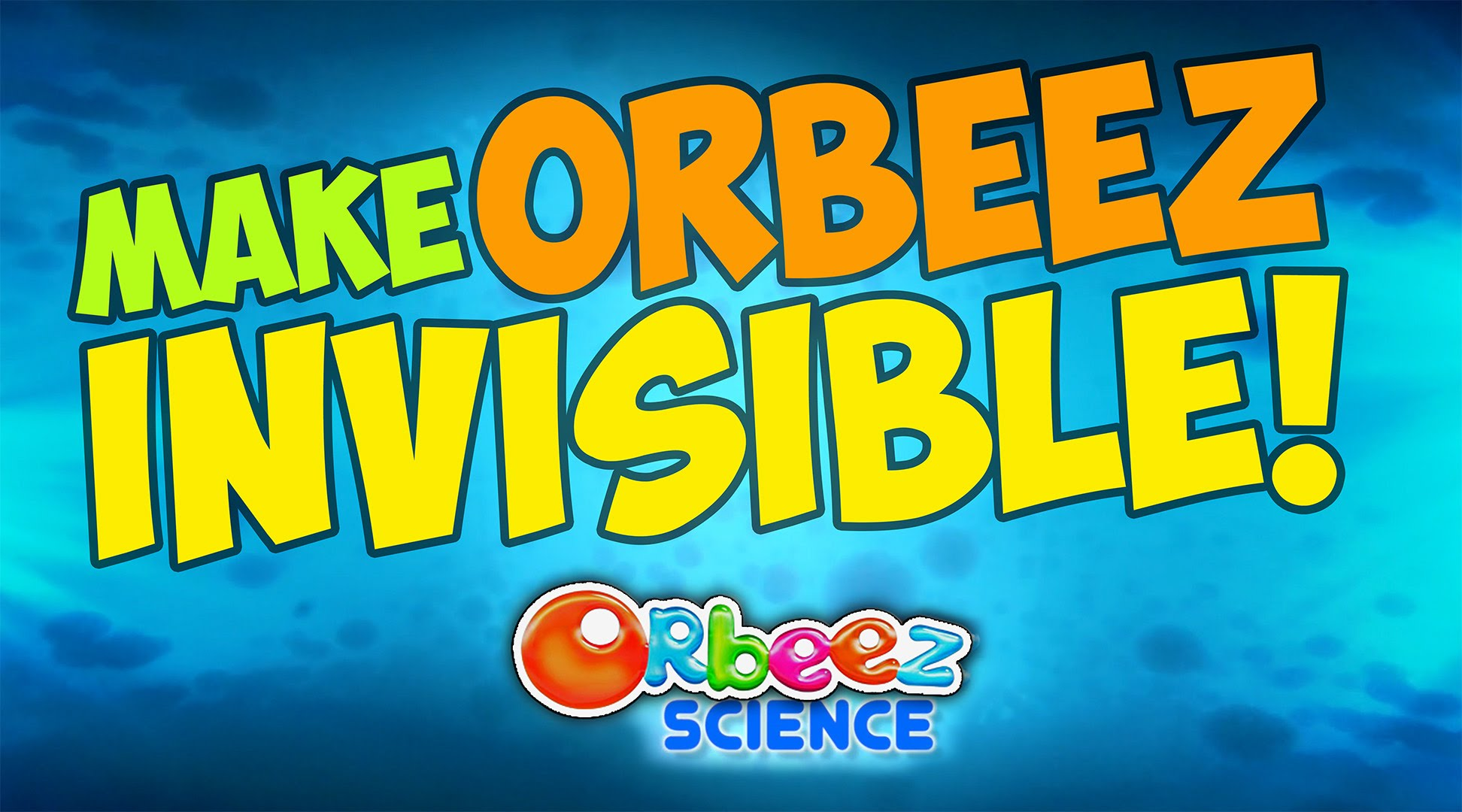 Video : Make Orbeez Invisible with Science